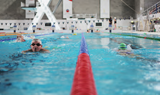 photohraph of swimming lanes